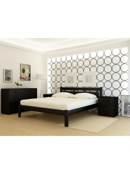 Кровать деревянная Гонг Конг