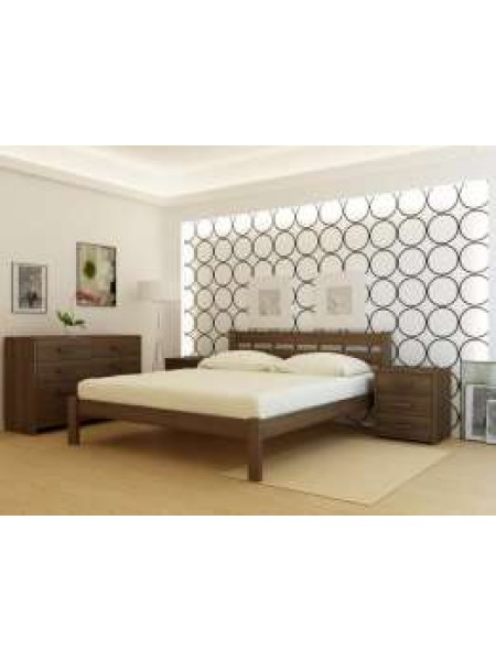 Кровать деревянная Франкфурт