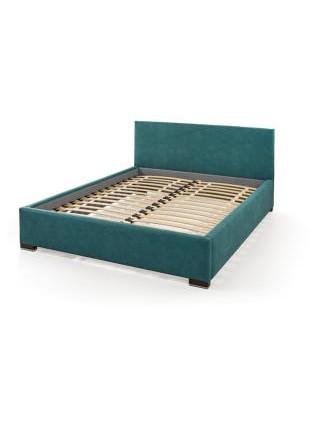 Двухспальная кровать на ламелях Мальта 2 с мягким изголовьем