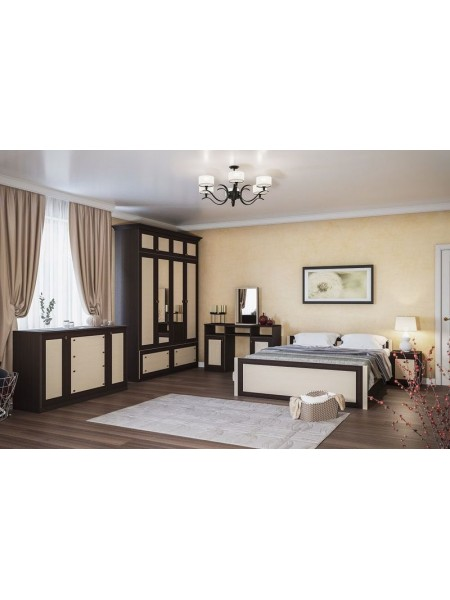 Двухспальная кровать 160*200 Лотос (б/матраса и каркаса)