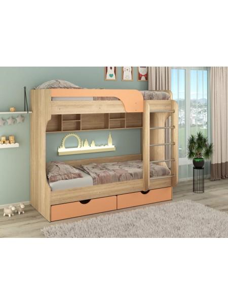 Двухъярусная кровать  Юнга (МДФ)