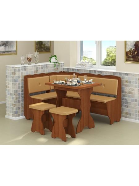 Кухонный уголок Лорд с нераскладным столом