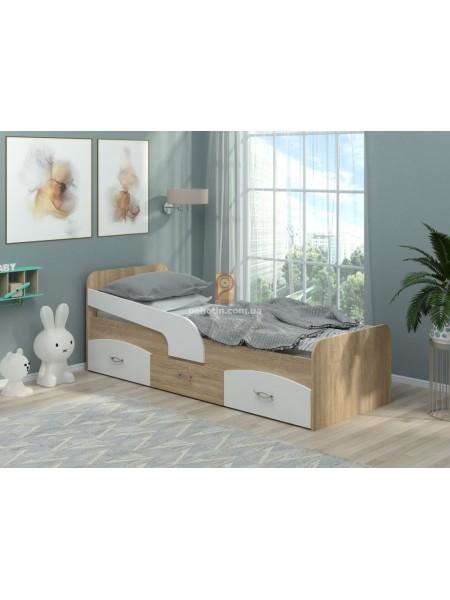 Детская кровать с ящиками Милка
