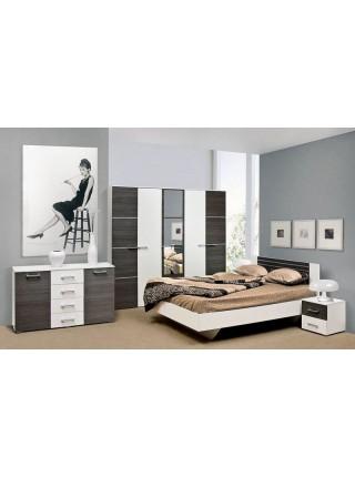 Двухспальная кровать Круиз (б/матраса и каркаса)
