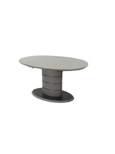 Стол МДФ + глянцевый стекло TM-65 серый
