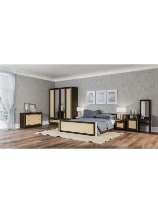 Двуспальная кровать Соня 160*200см(без матраса и каркаса)